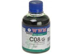 Чорнило WWM 200г. Canon CLI-8 Green