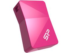 Флешка USВ Silicon Power Touch T08 16 ГБ (SP016GBUF2T08V1H) Pink