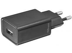 Зарядний пристрій Trust Ziva 1xUSB Black  (21959)