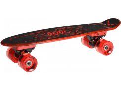Скейт Neon Hype N100788 Red
