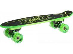 Скейт Neon Hype N100789 Green