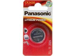 Батарейка Panasonic CR 2430 Lithium (BLI/1)