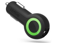 Зарядний пристрій iOttie Rapid VOLT Max Dual Port USB Black  (CHCRIO104BK)