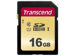 Карта пам'яті Transcend 500S SDHC 16GB TS16GSDC500S