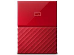Зовнішній жорсткий диск Western Digital My Passport 2TB WDBS4B0020BRD-WESN Red