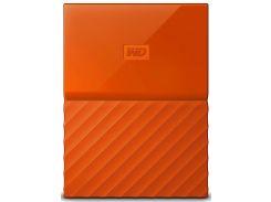 Зовнішній жорсткий диск Western Digital My Passport 2TB WDBS4B0020BOR-WESN Orange