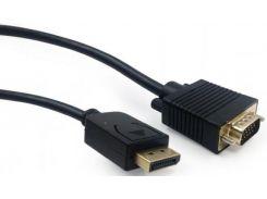 Перехідник Cablexpert DP to VGA Black 5m  (CCP-DPM-VGAM-5M)