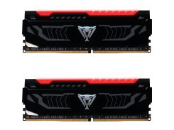 Оперативна пам'ять  Patriot DDR4 Viper LED Red 2x8GB PVLR416G300C5K
