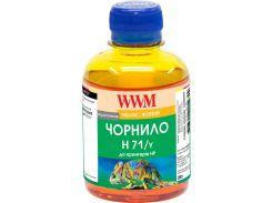 Чорнило WWM for HP №711 Yellow 200г