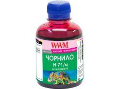 Чорнило WWM for HP №711 200g Magenta