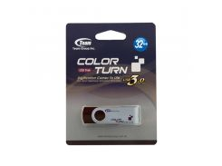 Флешка USB Team Color Turn E902 32 ГБ (TE902332GN01) коричнева