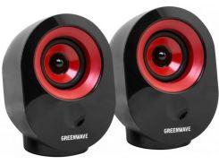 Колонки GREENWAVE SA-603 Black/Red  (R0015170)
