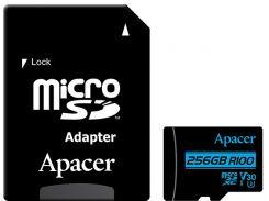 Карта пам'яті Apacer Micro SDXC 256GB AP256GMCSX10U7-R