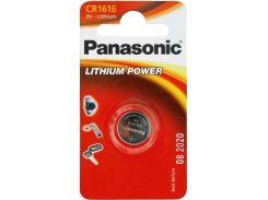 Батарейка Panasonic CR 1616 Lithium (BLI/1)