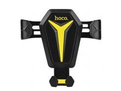 Кріплення для мобільного телефону Hoco CA22 Black/Yellow  (HOCO CA22 Black/Yellow)