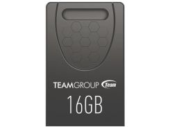 Флешка USB  Team C157 16GB TC157316GB01 Black
