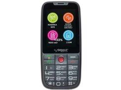 Мобільний телефон SIGMA Comfort 50 Elegance 3 Grey