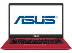 Ноутбук ASUS VivoBook X411UN-EB165 Red