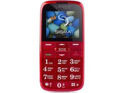 Мобільний телефон SIGMA Comfort 50 Slim 2 Red