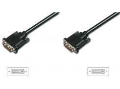 Кабель Digitus DVI to DVI 3m  (AK-320108-030-S)