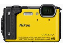 Компактна фотокамера Nikon Coolpix W300 Yellow  (VQA072E1)