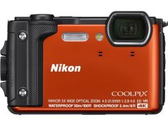 Компактна фотокамера Nikon Coolpix W300 Orange  (VQA071E1)