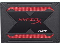Твердотільний накопичувач Kingston HyperX Fury RGB 240GB SHFR200B/240G Bundle Kit