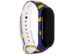 Ремінець Mijobs for Xiaomi Mi Band 3 - TPU Band Color Serias Pineapple