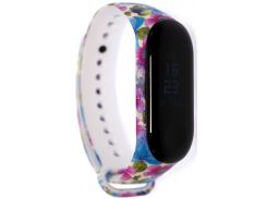 Ремінець Mijobs for Xiaomi Mi Band 3 - TPU Band Color Serias Violets