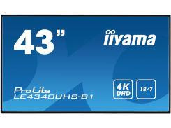 Монітор iiyama LE4340UHS-B1 Black