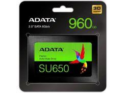 Твердотільний накопичувач A-Data Ultimate SU650 960GB ASU650SS-960GT-R