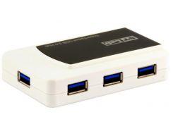 USB-хаб STLab U-870 Black/White