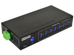 USB-хаб STLab IU-140 7 Black