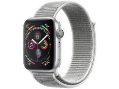Смарт годинник Apple Watch Series 4 GPS 44mm Silver Aluminium with Seashell Sport Loop  (MU6C2)