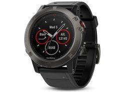 Смарт годинник Garmin Fenix 5x Sapphire Grey Black  (010-01733-14)