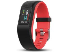 Фітнес браслет Garmin Vivosport Fuchsia Regular Black  (010-01789-51)