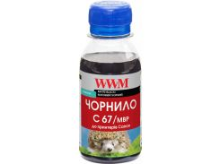 Чорнило WWM for Canon IPF-107MBk - Matte Black Pigmented 100g (C67/MBP-2)