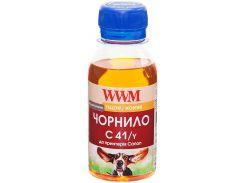 Чорнило WWM for Canon CL-41С/CL-51С/CLI-8Y - Yellow 100g (C41/Y-2)