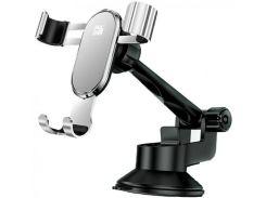 Кріплення для мобільного телефону JoyRoom HL-ZS015 YUN Series Gravity Silver  (HL-ZS015 Silver)