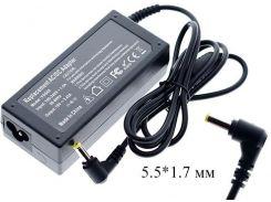 Блок живлення для ноутбука Acer 19V 3.42A 65W 5.5*1.7мм Black (без кабеля)
