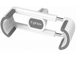 Кріплення для мобільного телефону T-PHOX Spider Car Mount White/Grey  (6404377)