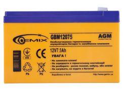 Батарея для ПБЖ Gemix GBM12075