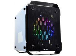 Корпус для ПК QUBE Qube Core Black  (CORE_F3NU3)