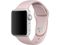 Ремінець Apple Sand Sport Band for Apple Watch 38mm Pink  (MNJ02)