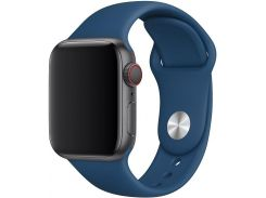Ремінець Apple Sport Band for Apple Watch 40mm Blue Horizon - S/M M/L  (MTPC2)