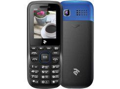 Мобільний телефон 2E E180 Black Blue  (708744071163)