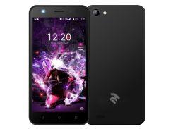Смартфон 2E E500A Black  (E500A DS Black)