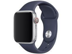 Ремінець Apple Sport Band for Apple Watch 40mm Midnight Blue - S/M M/L  (MTPH2)
