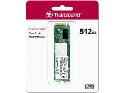 Твердотільний накопичувач Transcend 220S 2280 PCIe 3.0 x4 NVMe 512GB TS512GMTE220S