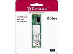 Твердотільний накопичувач Transcend 220S 2280 PCIe 3.0 x4 NVMe 256GB TS256GMTE220S
